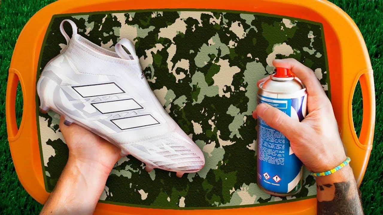 Como Tunear Y Recuperar Tus Botas Fácil Y Barato Hidrografia En Nike Adidas Puma Y Más Youtube
