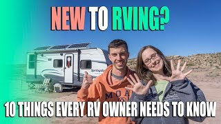 New To RVing? 10 Things Every RV Owner Needs To Know - Tips Tools & Tires