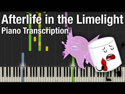Afterlife in the Limelight - Piano Transcription