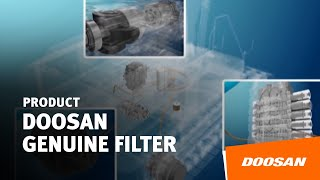 Doosan Infacore genuine filter Thumbnail