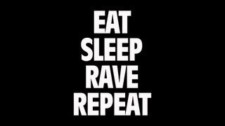 Fatboy Slim & Riva Starr Ft. Beardyman - Eat, Sleep, Rave, Repeat (Lyric)