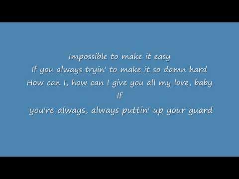 Christina Aguilera Ft Alicia Keys Impossible lyrics