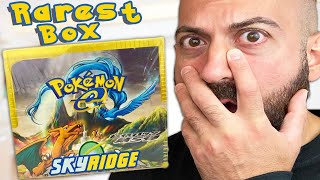 Rarest Pokemon Cards Opening You'll EVER See ($10,000 Charizard Hunt!) Skyridge Mysterious Mountains