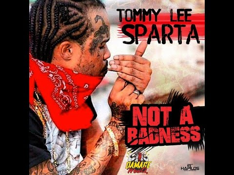 Tommy Lee Sparta - Not A Badness Lyrics Video [Alkaline & Mavado Diss] [Dec 2016]