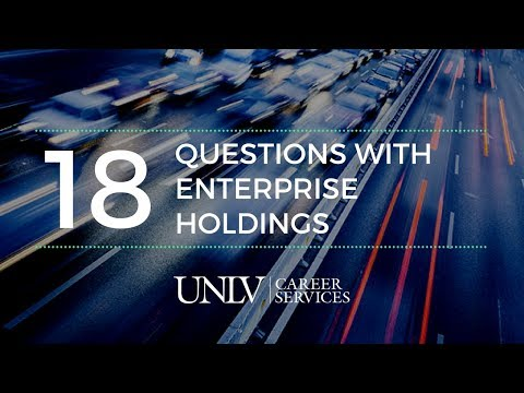 18 Questions with Enterprise Holdings