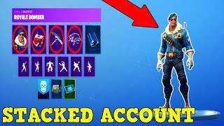 This Account Has Double Helix, Royale Bomber, Eon & Galaxy! (Stacked Fortnite Account!)