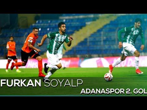 Adanaspor 0 - 2 Bursaspor | Gol: Furkan Soyalp