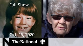 CBC News: The National | Cold case closure for mom after 36 years | Oct. 16, 2020