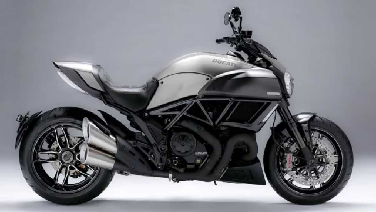 ducati diavel titanium: le parti in titanio - youtube