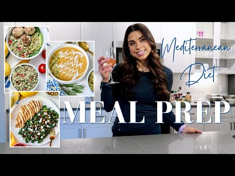 MEAL PREP | Mediterranean Diet | Quick, Easy and Flexible Healthy Recipes