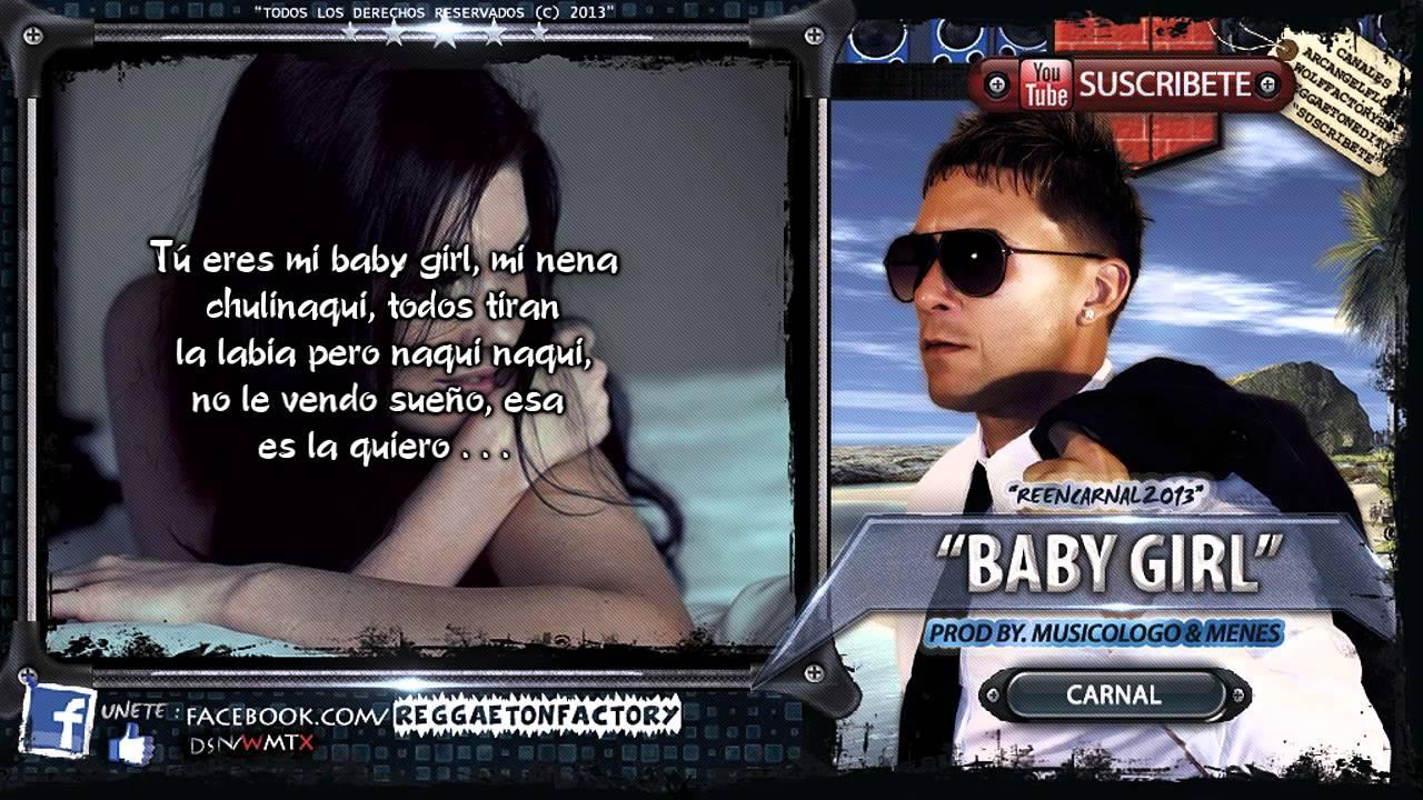 Reggaeton Baby Girl Lyrics