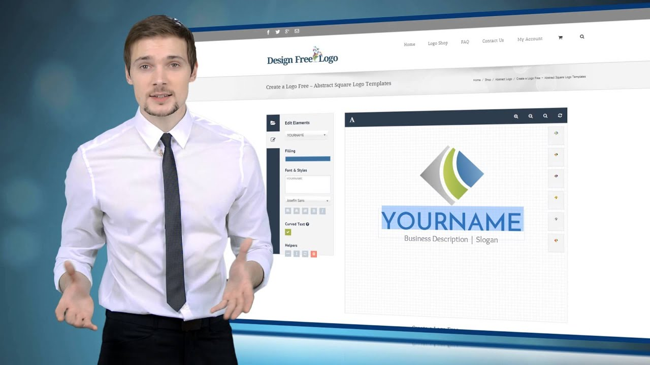 Free Logo Maker Youtube