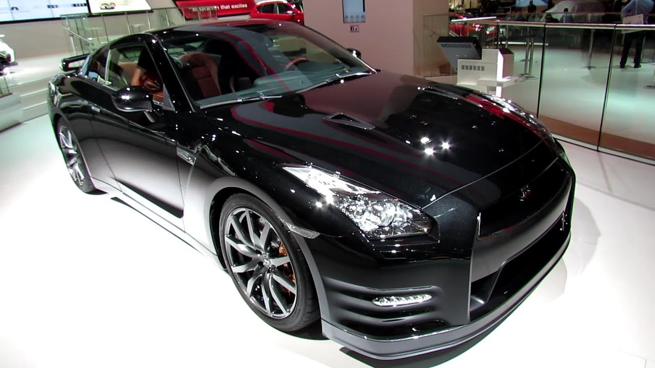 2013 nissan gt-r black edition - exterior and interior walkaround