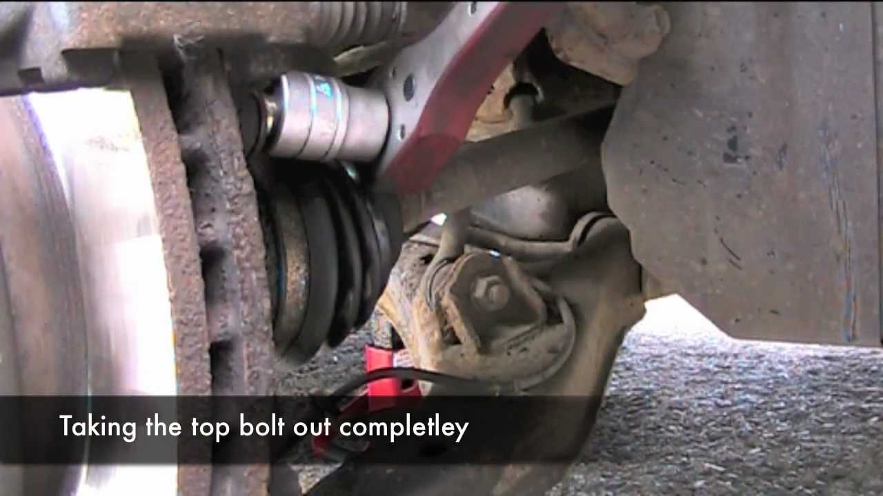 Changing Brake Disks and Pads on a Nissan Primera