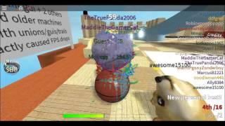 Roblox: Super Blocky Ball | Bouncing off the Walls!