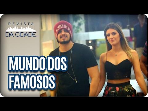 Bruna Marquezine, Luan Santana e Tatá Werneck - Revista da Cidade (01/02/2017)