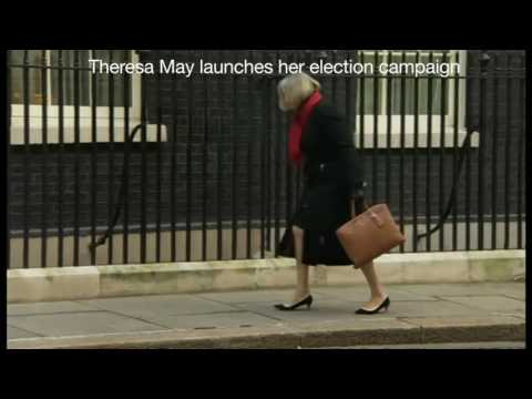 Theresa May's dire election campaign summed up in 40 seconds