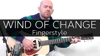 Wind of change (Scorpions) - Acoustic Guitar Solo Cover (Violão Fingerstyle)