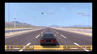 Gran Turismo 5 Max G-Force Test Mazda RX-7 GT-X (FC) '90