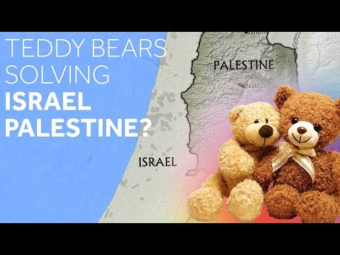 Teddy Bears Solving Israel Palestine? | Leon Charney Reporters