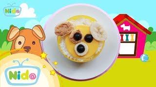 Món ăn ngọt ngào: Hướng Dẫn Làm Bento Cún Cưng - Bé vào bếp cùng mẹ | Nido Channel
