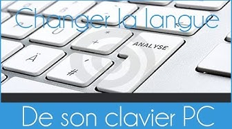 Comment passer d'un clavier qwerty en azerty et vice versa