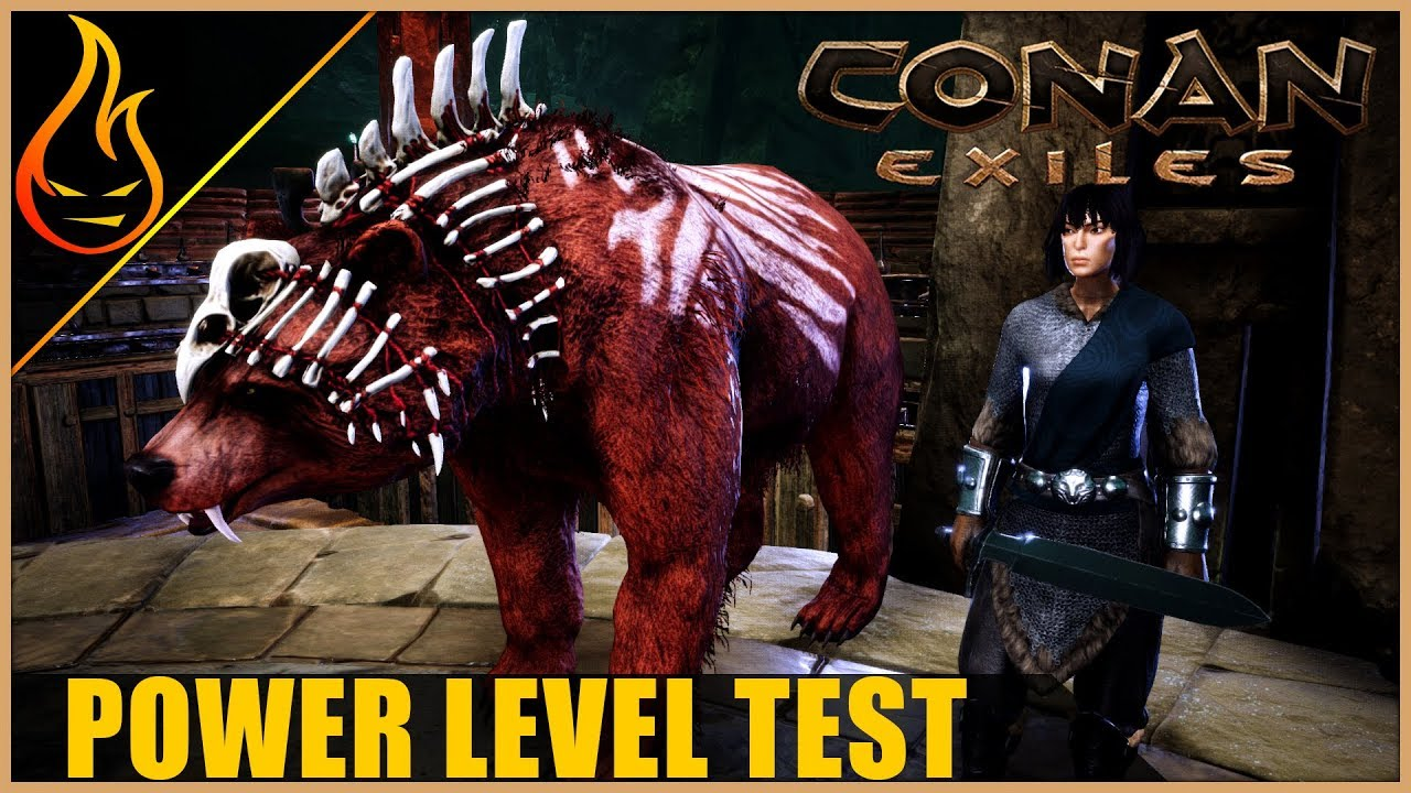 Testing Thrall Vs Pets Conan Exiles 2018 Pet update