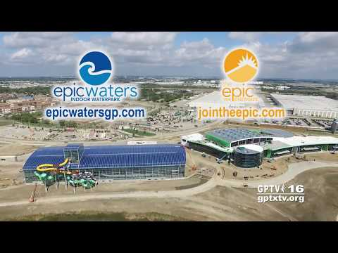 City of Grand Prairie: Epic Waters Roof Demonstration