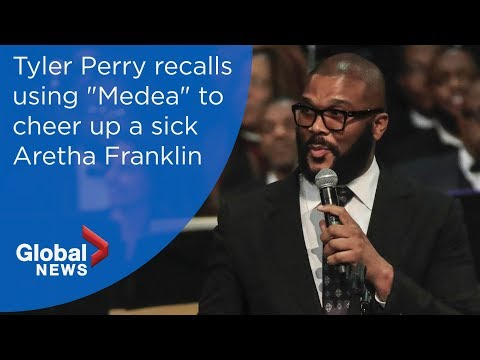 Aretha Franklin funeral: Tyler Perry FULL eulogy