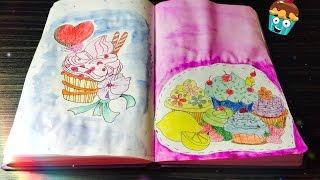 Идеи для личного дневника ( ЛД ) / Разворот: кексы