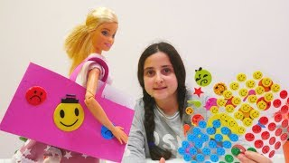Oyuncak bebek Barbie için evrak çantası yapıyoruz.