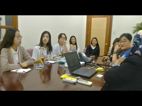 Visit by Republic Of Korea Youths to Ghanim International Corporation