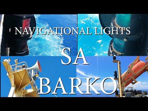 Navigational lights sa BARKO