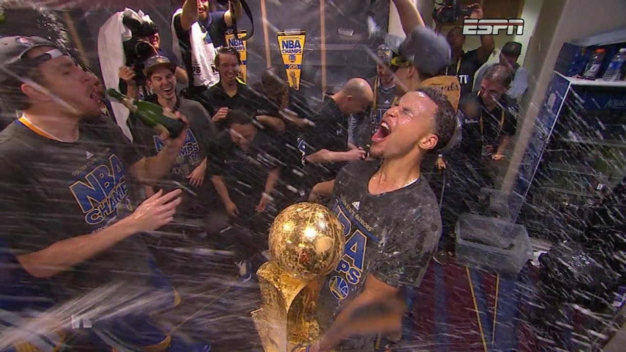 Golden State Warriors Champions After Winning Tense Game 6 of NBA Finals - YouTube