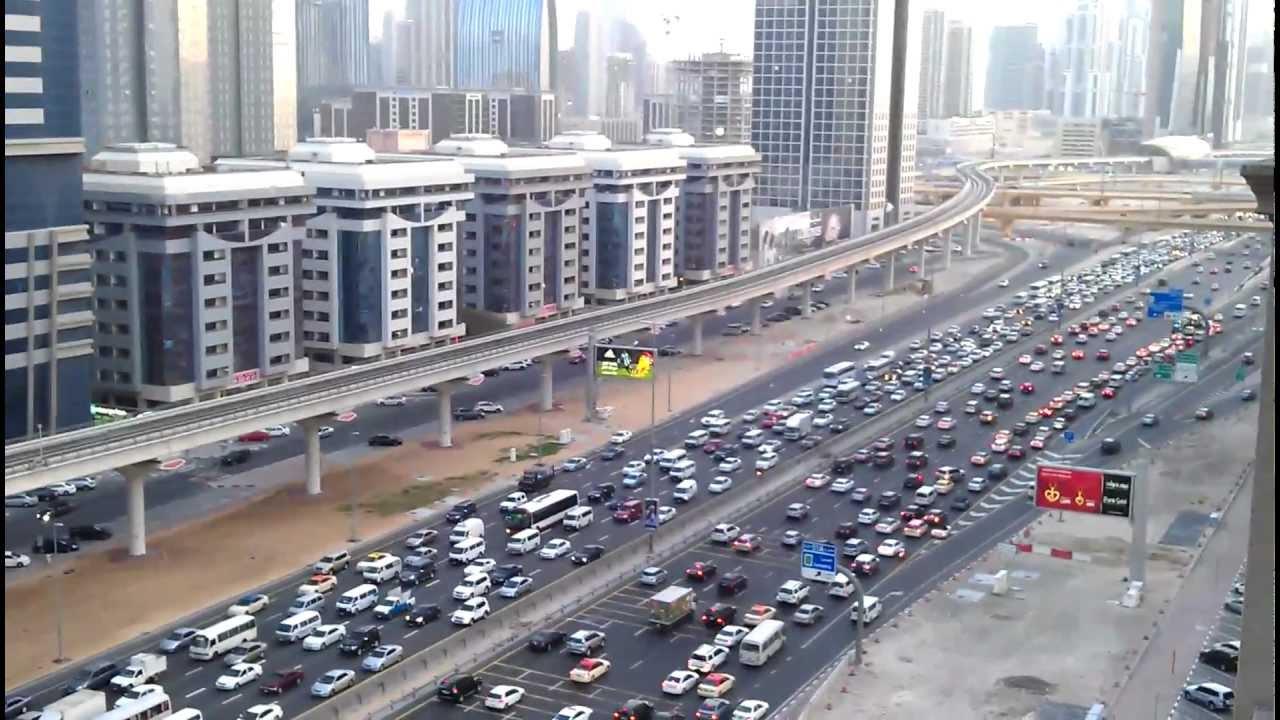 Bildresultat för dubais city trafik