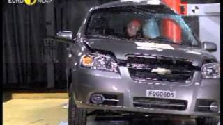Краш-тест и видео краш-тест Chevrolet Aveo (Шевроле Авео)