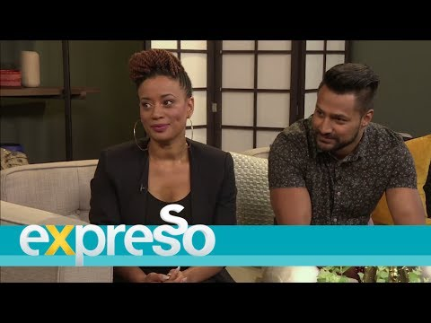 Cast of Thula's Vine drop by the Expresso studio | 10 April 2017