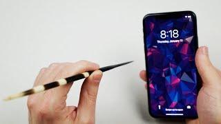 豪豬刺做的箭能刺穿iPhone X嗎? (中文字幕)