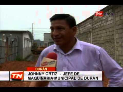 Comenzaron obras en zonas afectadas por lluvias