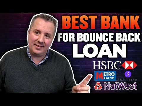 What Are The Best Banks for Bounce Back Loans