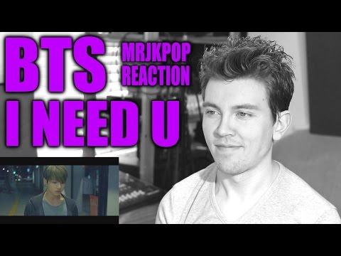 BTS I NEED U Reaction / Review [Korean Subs] - MRJKPOP ( 방탄소년단 )
