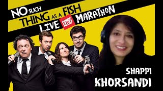 29. Shappi Khorsandi   No Such Thing As A Fish 20 Hour Podcast