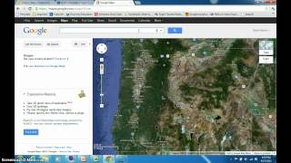 Latitude and Longitude with Google Maps Free HD Video