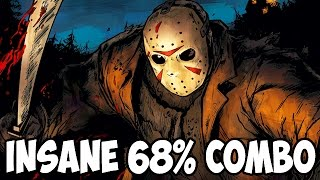 INSANE 68% COMBO WITH JASON VOORHEES! - Mortal Kombat X Random Character Select Gameplay