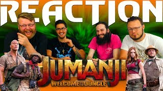 Jumanji: Welcome to the Jungle Official Trailer REACTION!!