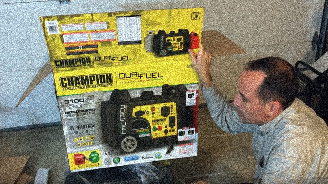 Champion Inverter Generator Costco : Champion dual fuel digital inverter generator electric