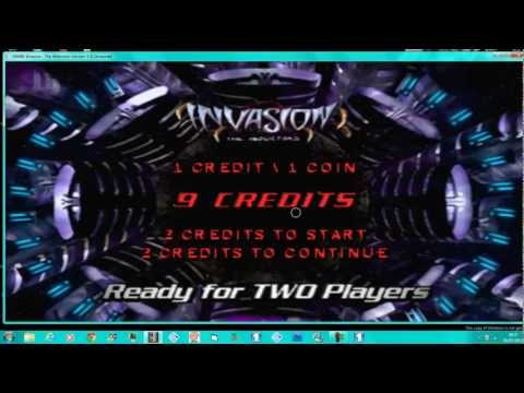 invasion the abductors mame 146u3 100% gameplay stage medium