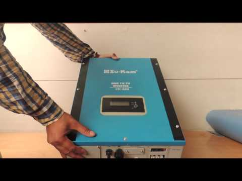 DIY: How to Install Grid Tie or On Grid Solar Inverter in India