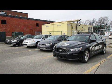 Walking Around The Montréal Taxi Bureau (BTM) Inspectors' Entire Fleet - Marked & Unmarked Vehicles