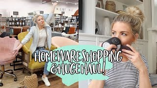 COME HOMEWARE SHOPPING WITH ME & HUGE HAUL! | KATE MURNANE